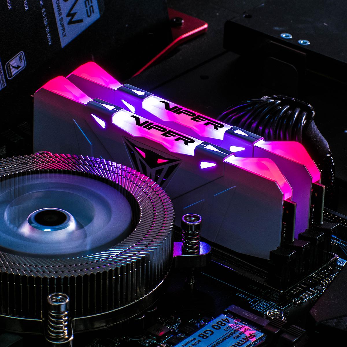 New Patriot Viper RGB Memory: Up to DDR4-4133