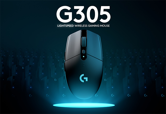 Logitech Unveils G305 Mouse with Lightspeed Wireless, 'Hero' 12,000