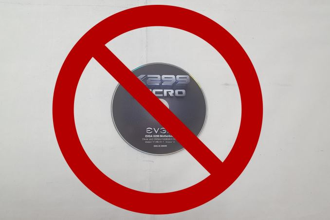 EVGA Forgoes Driver DVDs: It's All About The USB Flash Drive