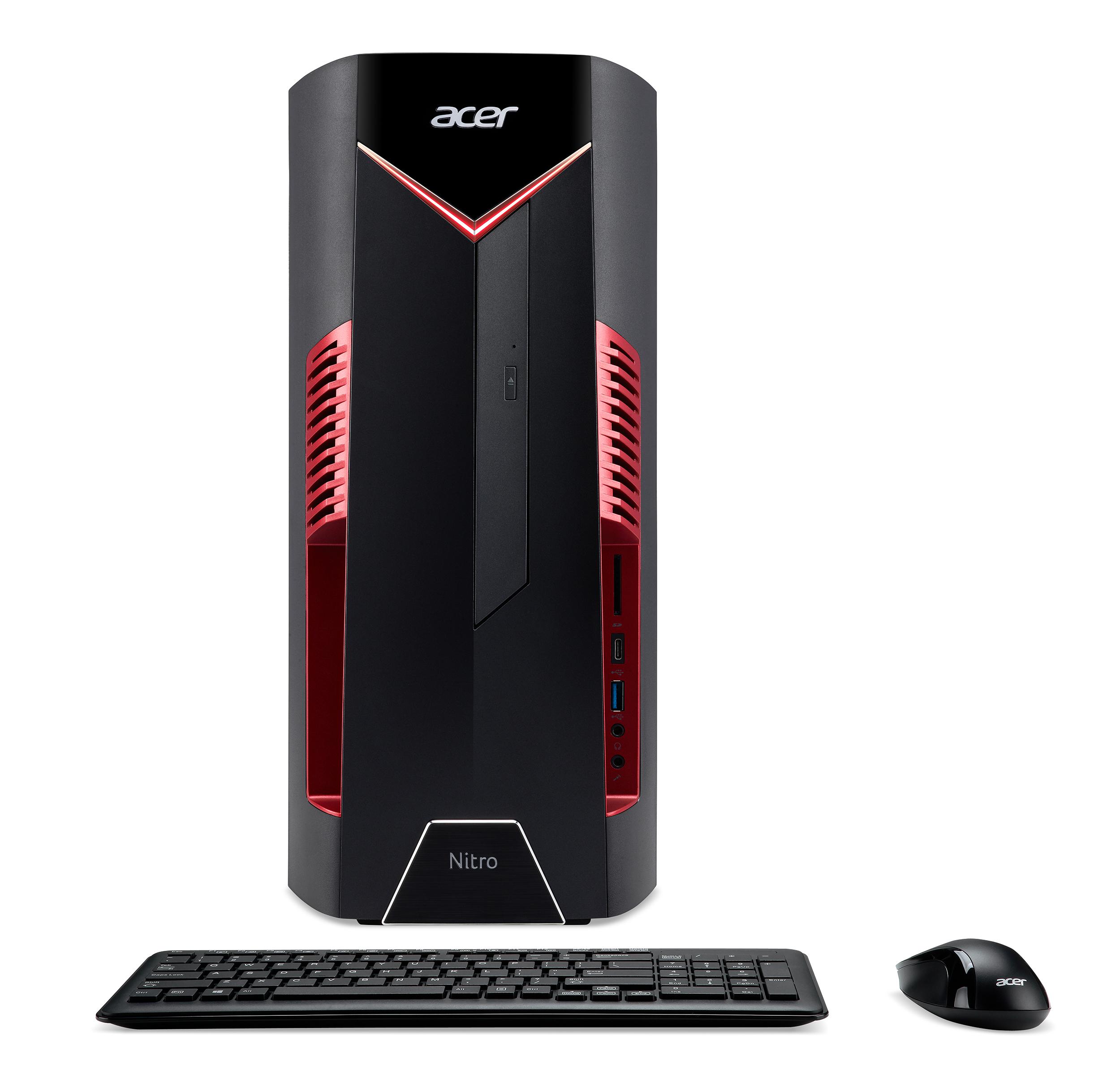 Fabulous Acer Unveils New Nitro 50 Series Gaming Desktop Pcs Download Free Architecture Designs Rallybritishbridgeorg
