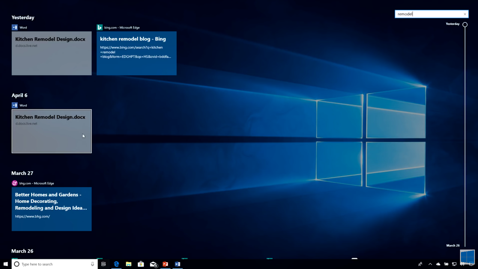 Timeline and Focus Assist: Get More Done - The Windows 10 April