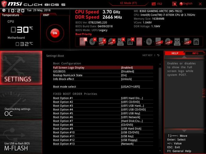 BIOS and Software - MSI B360 Gaming Plus & B360 Gaming Arctic Review