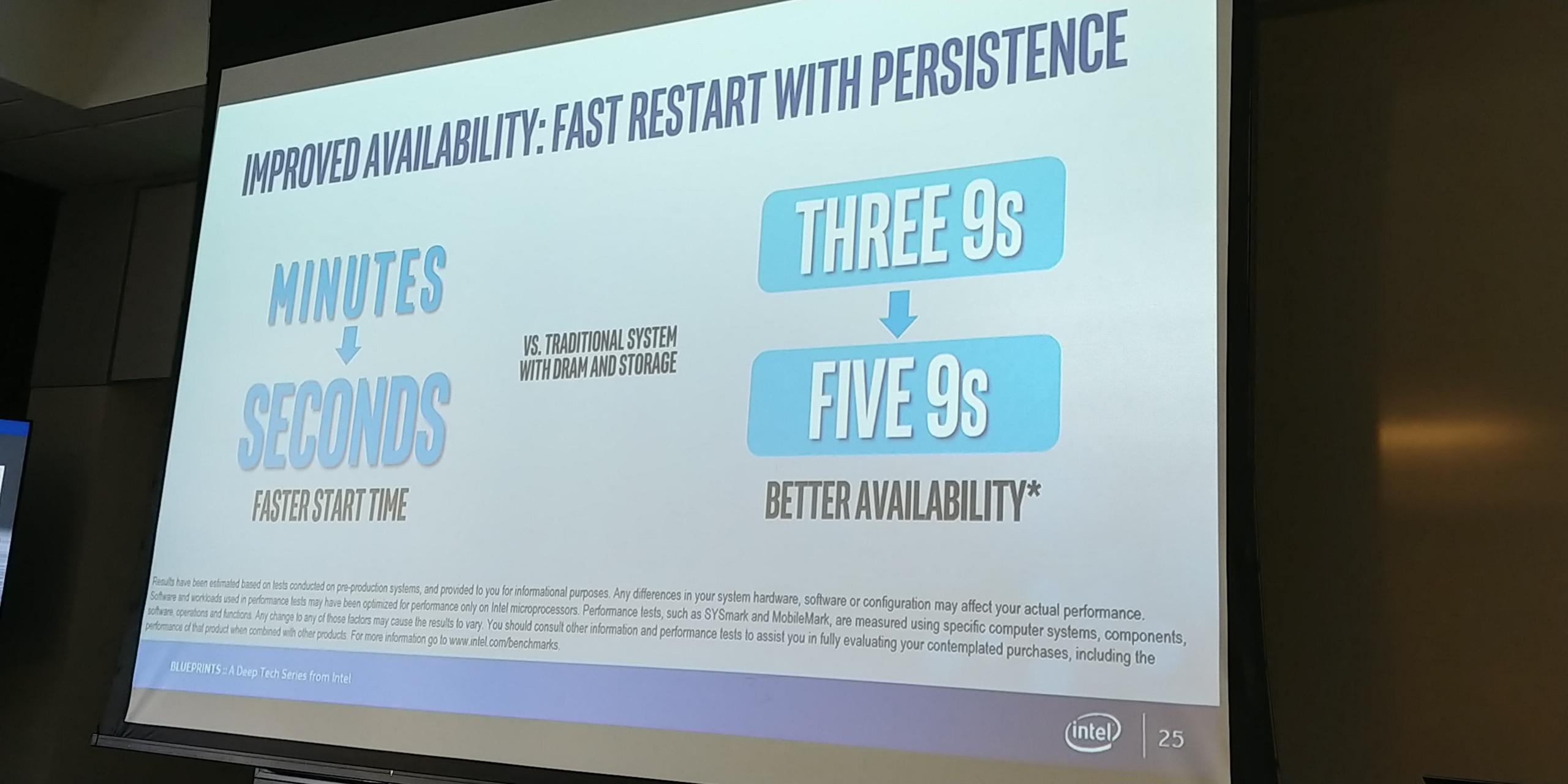 Intel Persistent Memory Event: Live Blog