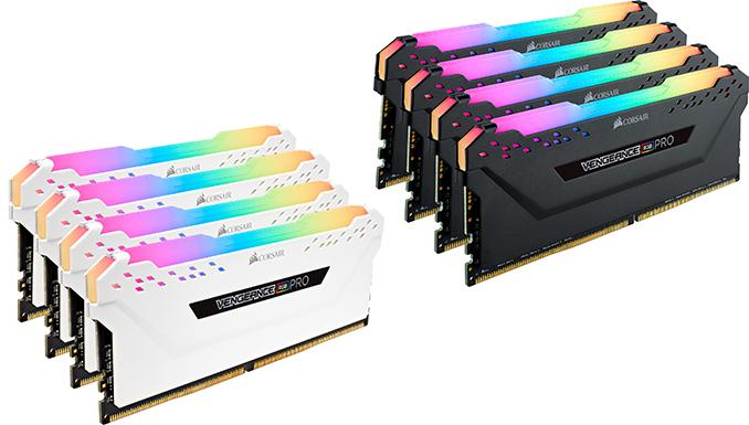 Corsair Announces Vengeance RGB Pro Memory: Up to DDR-4000