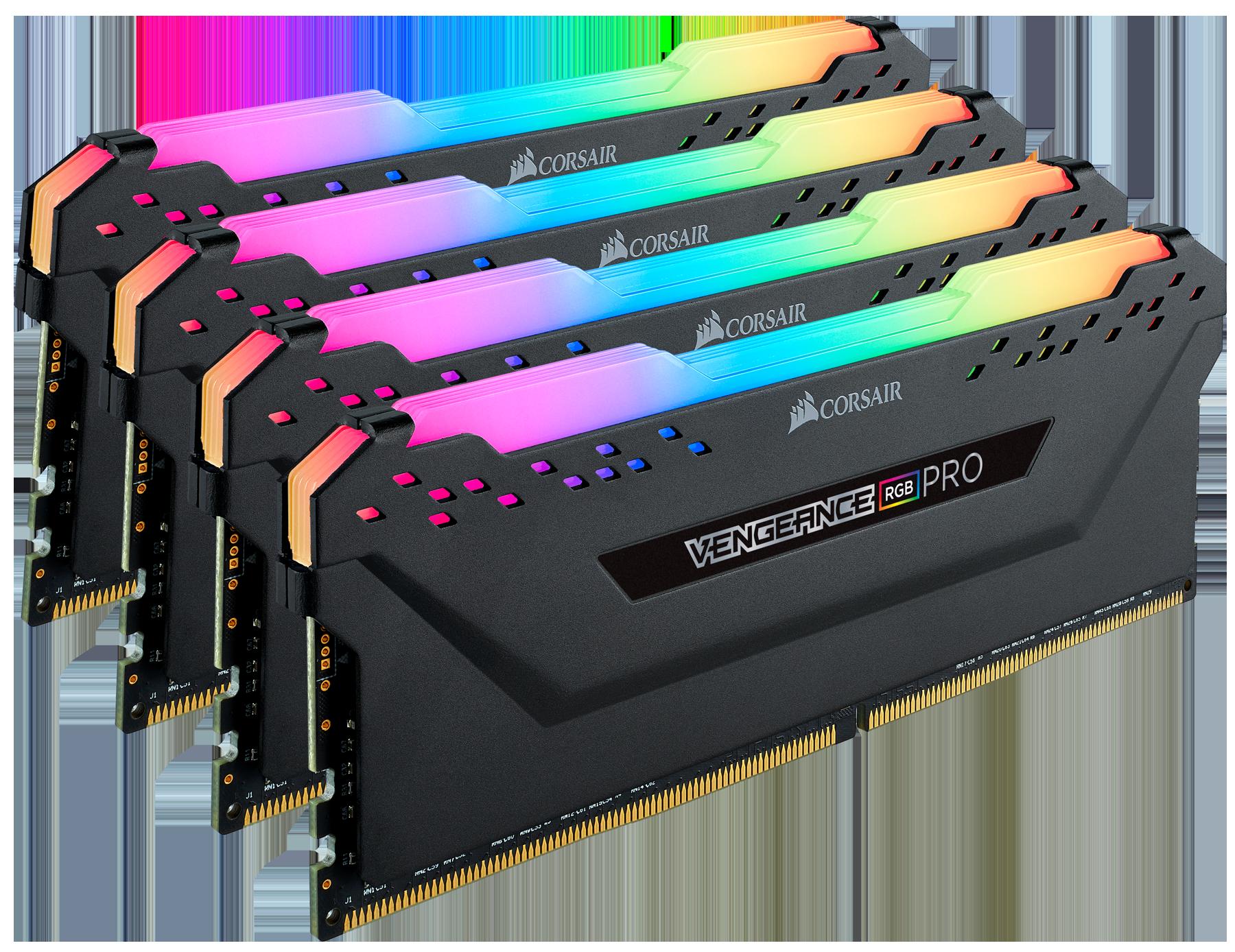 Corsair Announces Vengeance RGB Pro Memory: Up to DDR-4000, 10 RGB LEDs