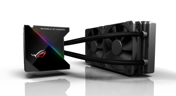 ASUS ROG Coolers: Ryujin and Ryuo Liquid Coolers Announced