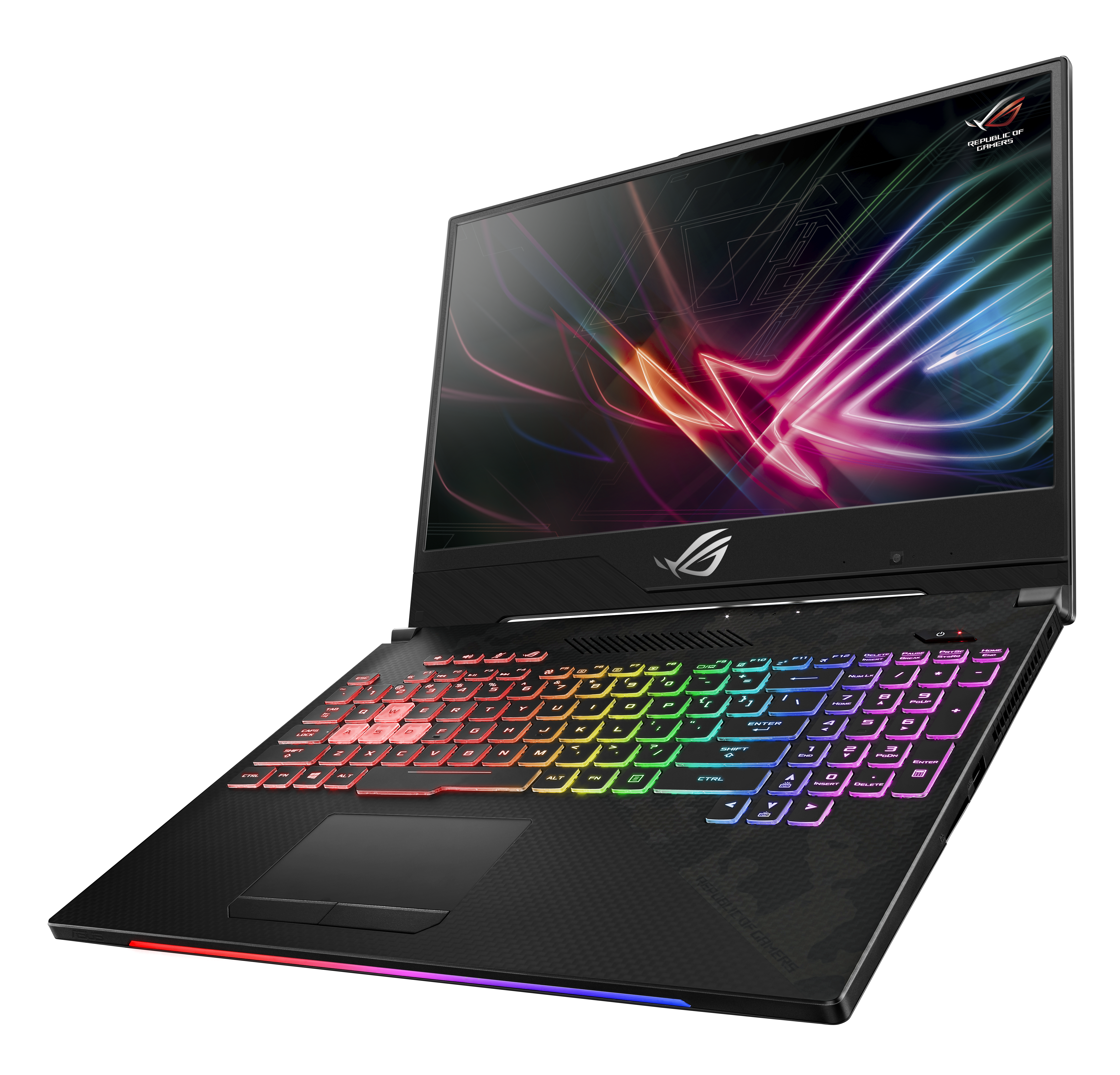 ASUS ROG Strix Hero II & Scar II GL504 Laptops: CFL, 144 Hz