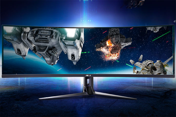 ASUS Launches VG49V: An Ultrawide Curved 32:9 49-Inch