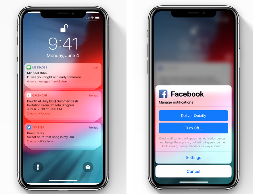 Apple Announces iOS 12: Siri Suggestions, Faster Performance, 6