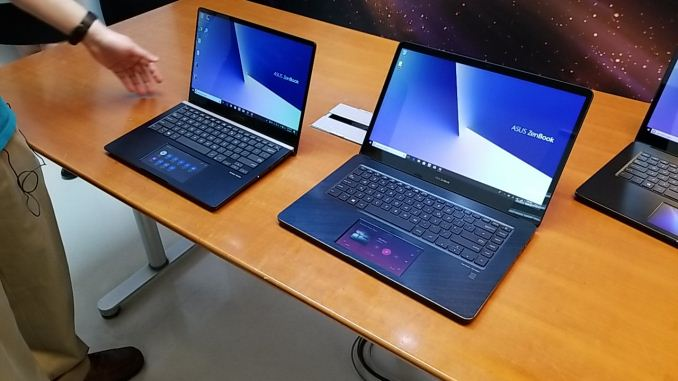 Asus' New ZenBook Pros Have A Screen In The Touchpad