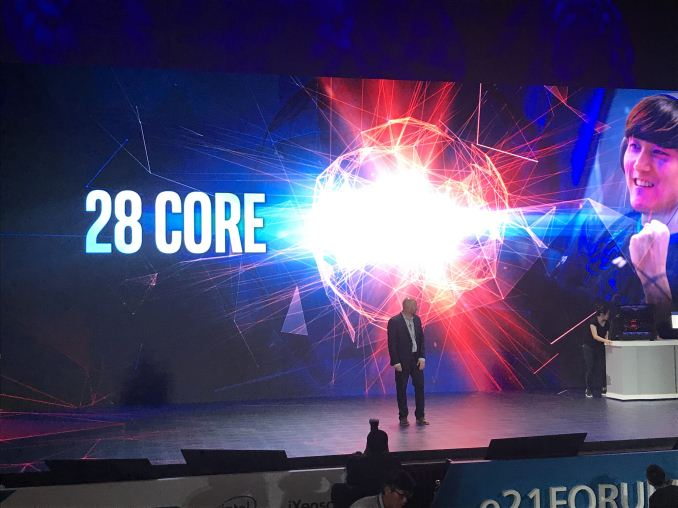 Computex 2018: Intel Teases Audience With An Unnamed 28-Cores CPU
