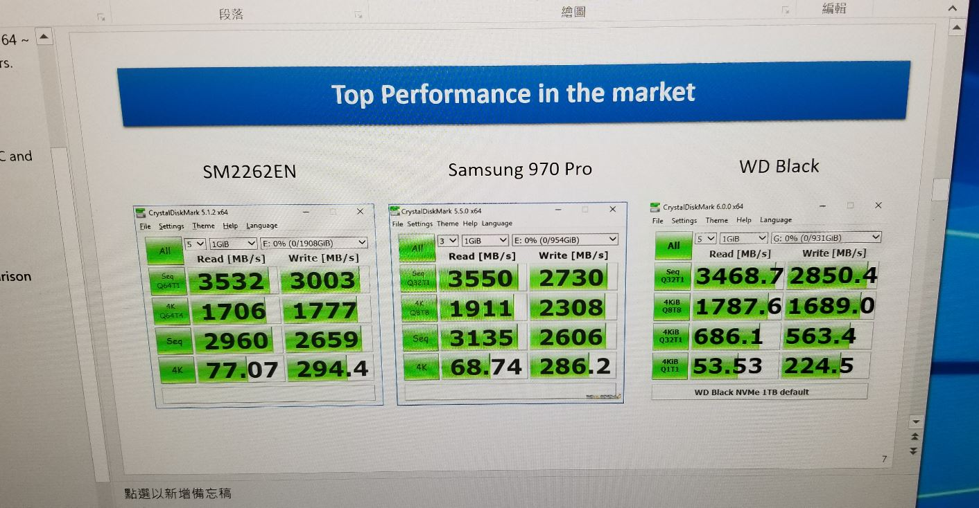 SMI Eyes Samsung's Performance Crown With SM2262EN Controller