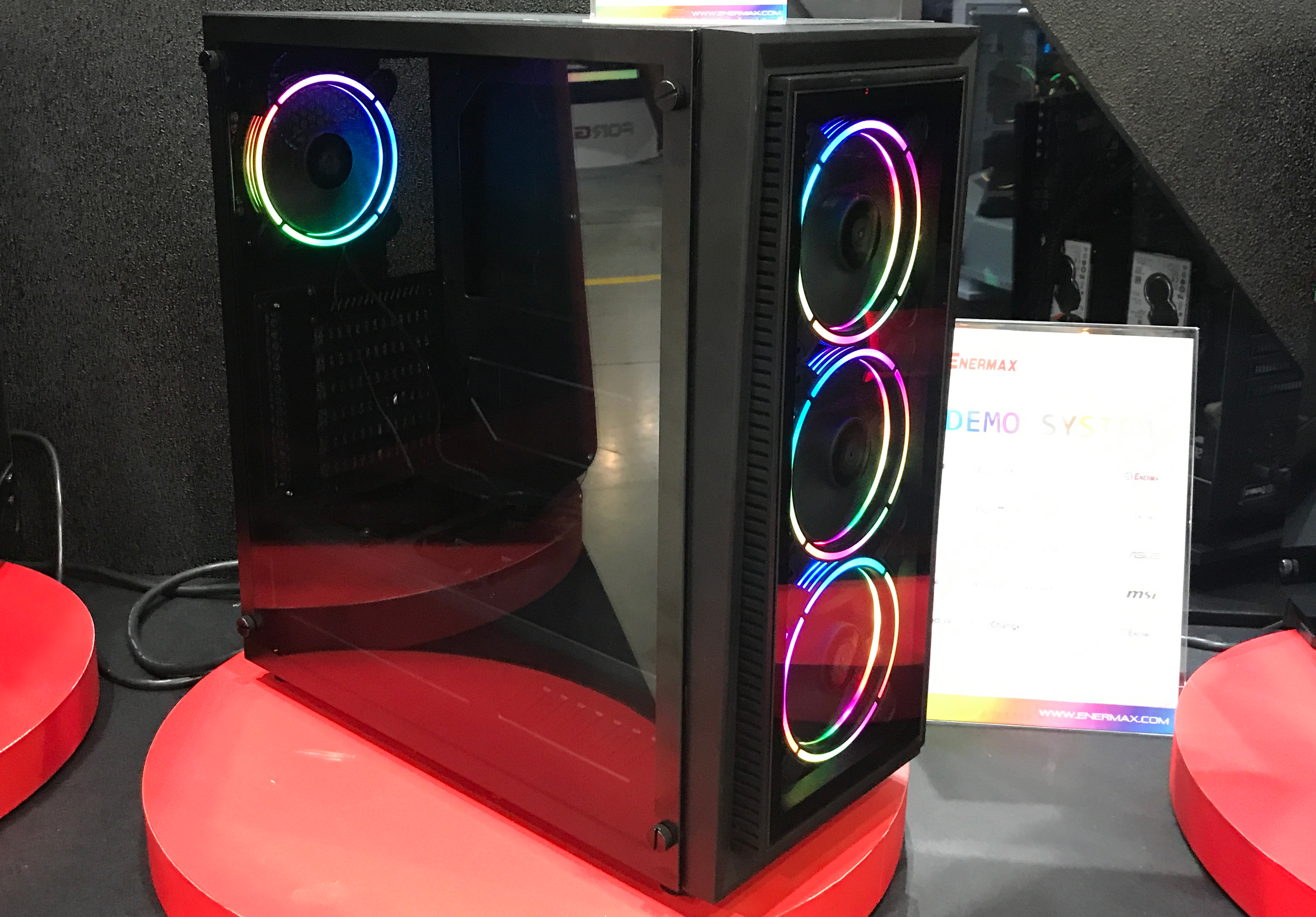 Enermax readies sub $100 pc case with addressable rgb lighting