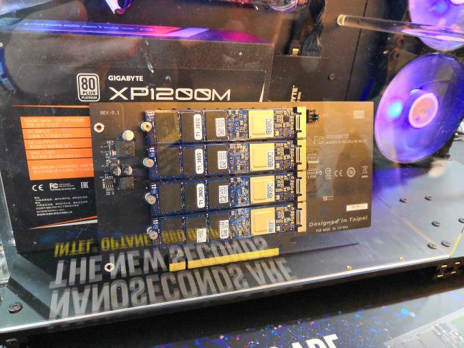 GIGABYTE Aorus PCIe x16 M 2: For Four NVMe Drives, X399