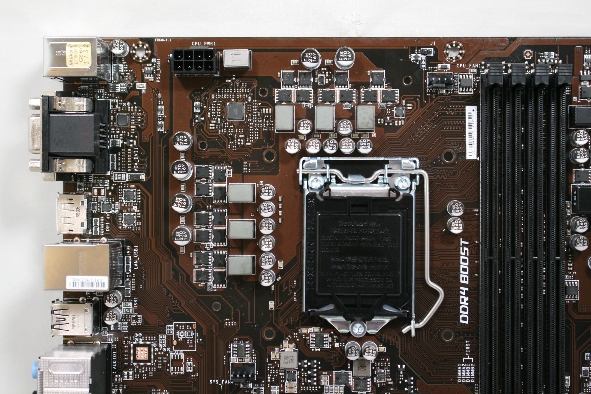 Visual Inspection - The MSI Z370-A Pro Motherboard Review: Entry