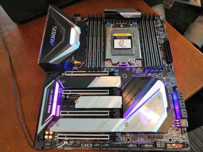 GIGABYTE's X399 Aorus Extreme: The Threadripper 2 Halo Motherboard