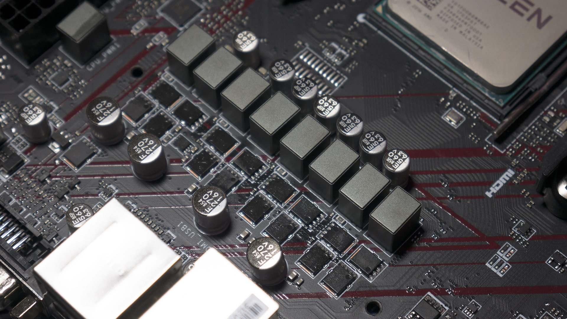 Visual Inspection - The $120 MSI X470 Gaming Plus Review