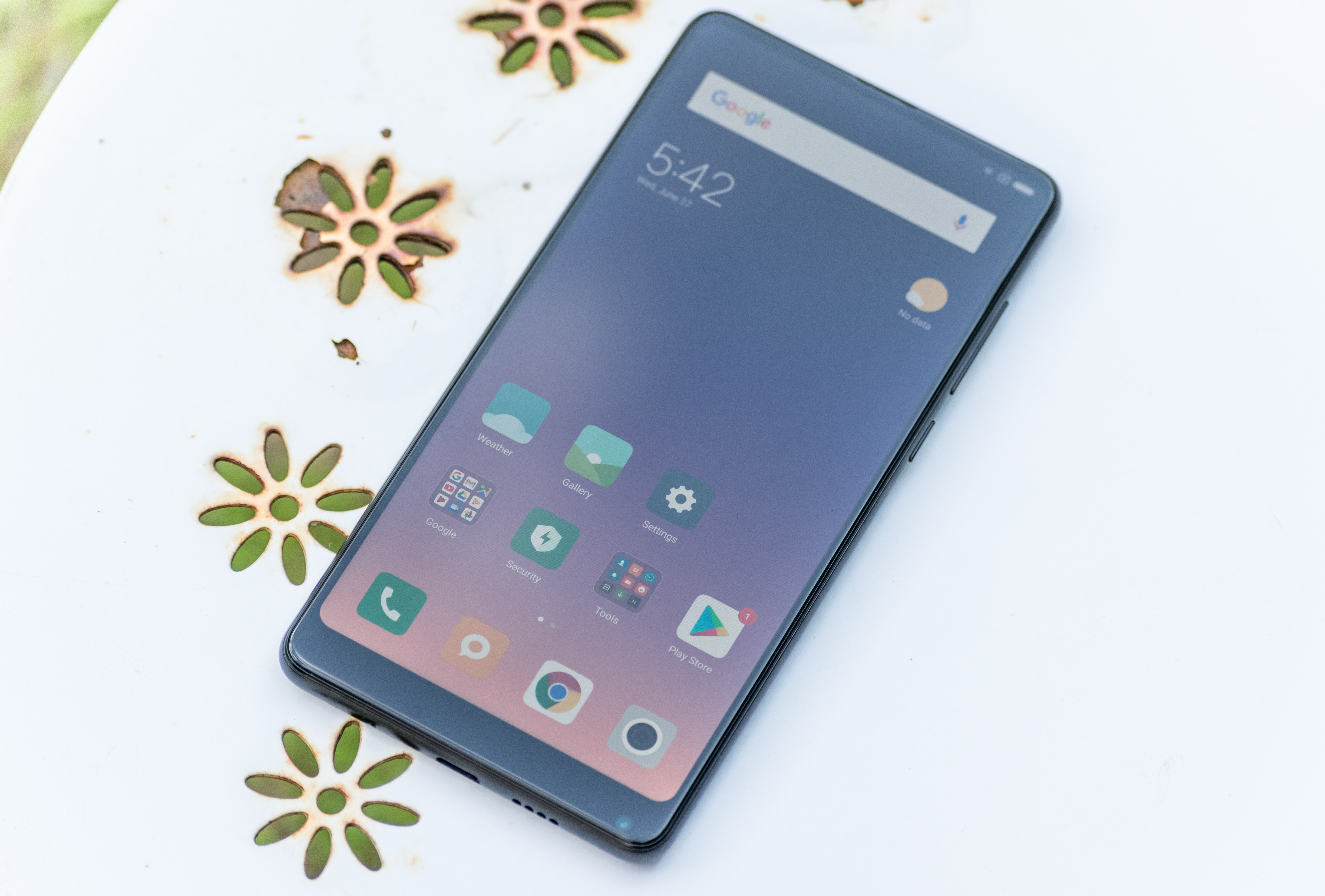 The Xiaomi Mi Mix 2s Review Fantastic Overall Value Back On Which We Find Fingerprint Sensor As Well A Very Iphone X Inspired Camera Housing One Of Major Design Changes Compared To 2