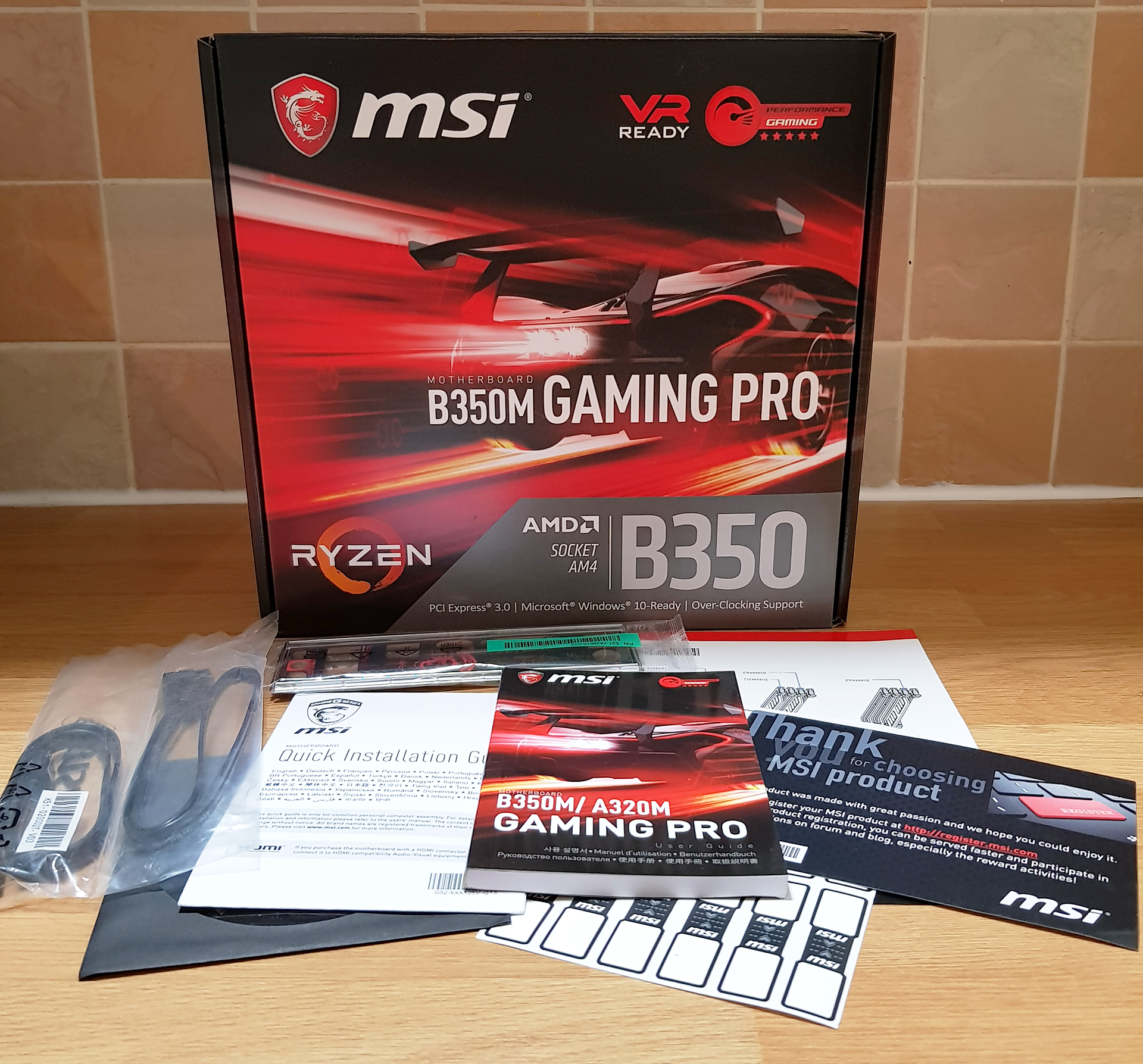 Board Features And Visual Inspection - The MSI B350M Gaming