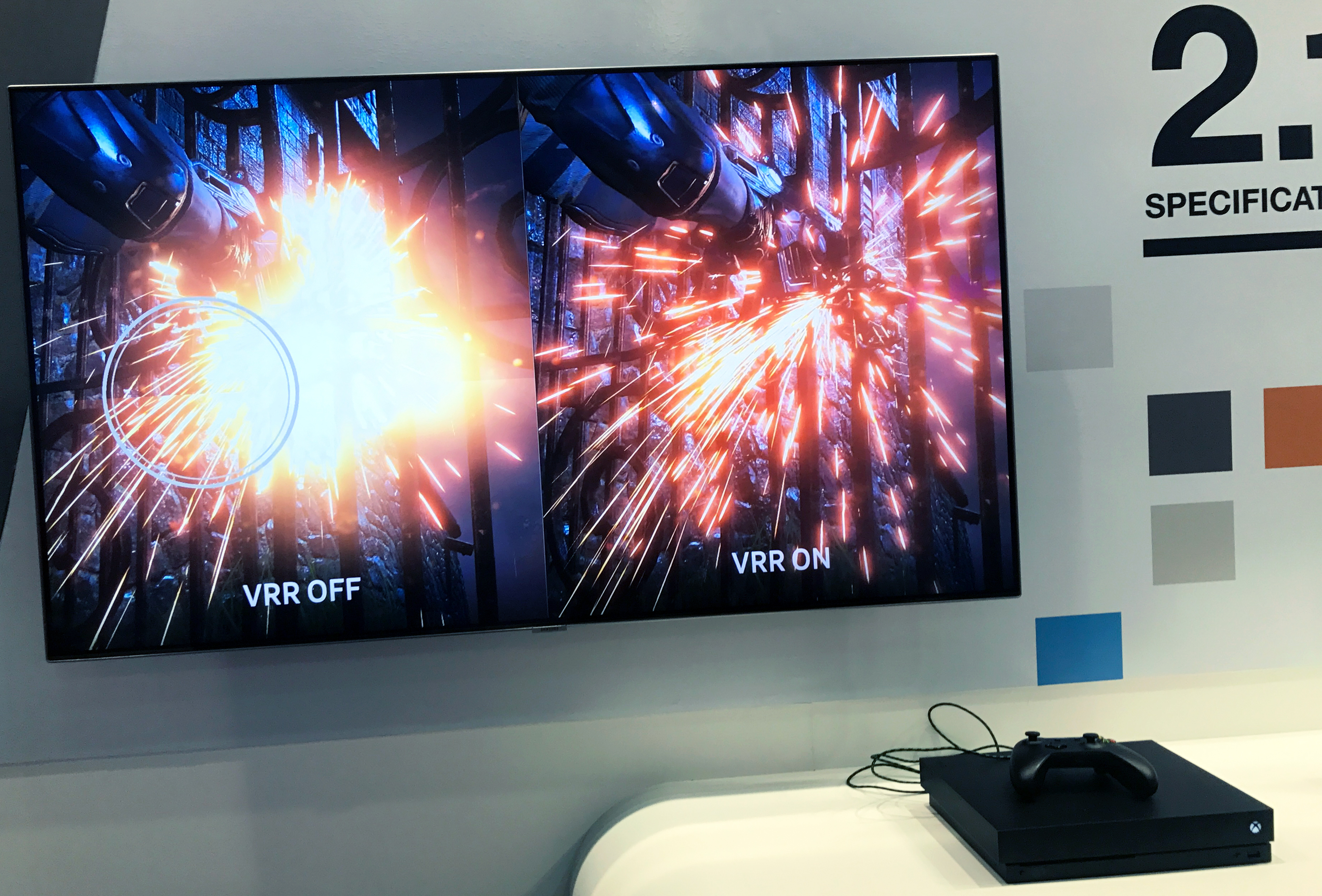 HDMI Forum Demonstrates HDMI 2 1 VRR Capabilities on Samsung TV