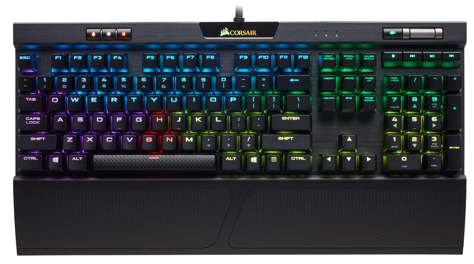 Corsair Launches New K70 RGB MK 2 and STRAFE RGB MK 2 Mechanical