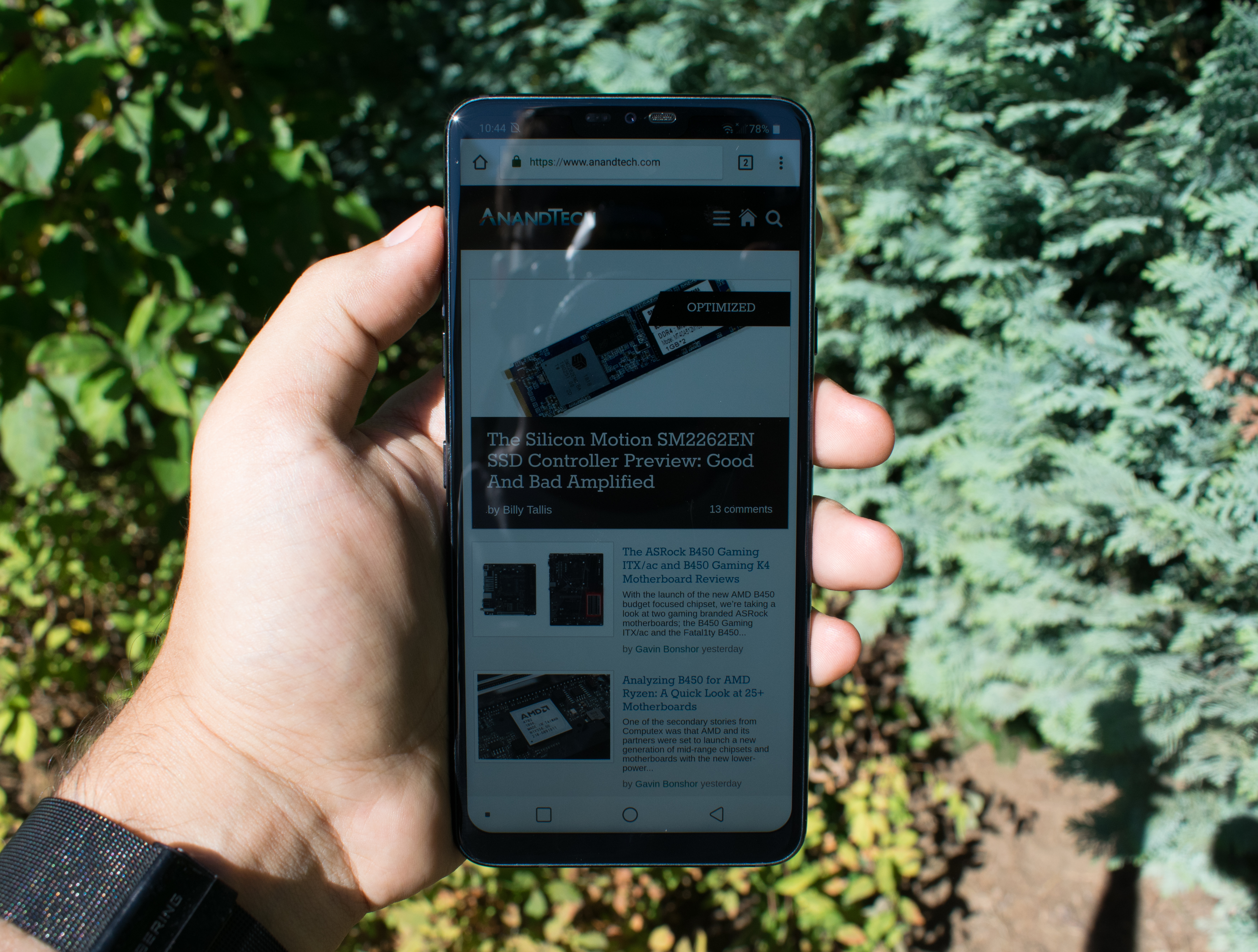 Display Measurement & Power - The LG G7 Review: A Rushed Attempt?