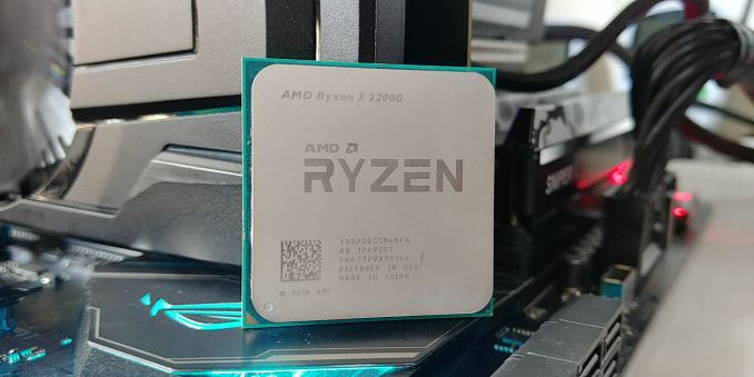 AMD Ryzen 5 2400G and Ryzen 3 2200G Integrated Graphics Frequency