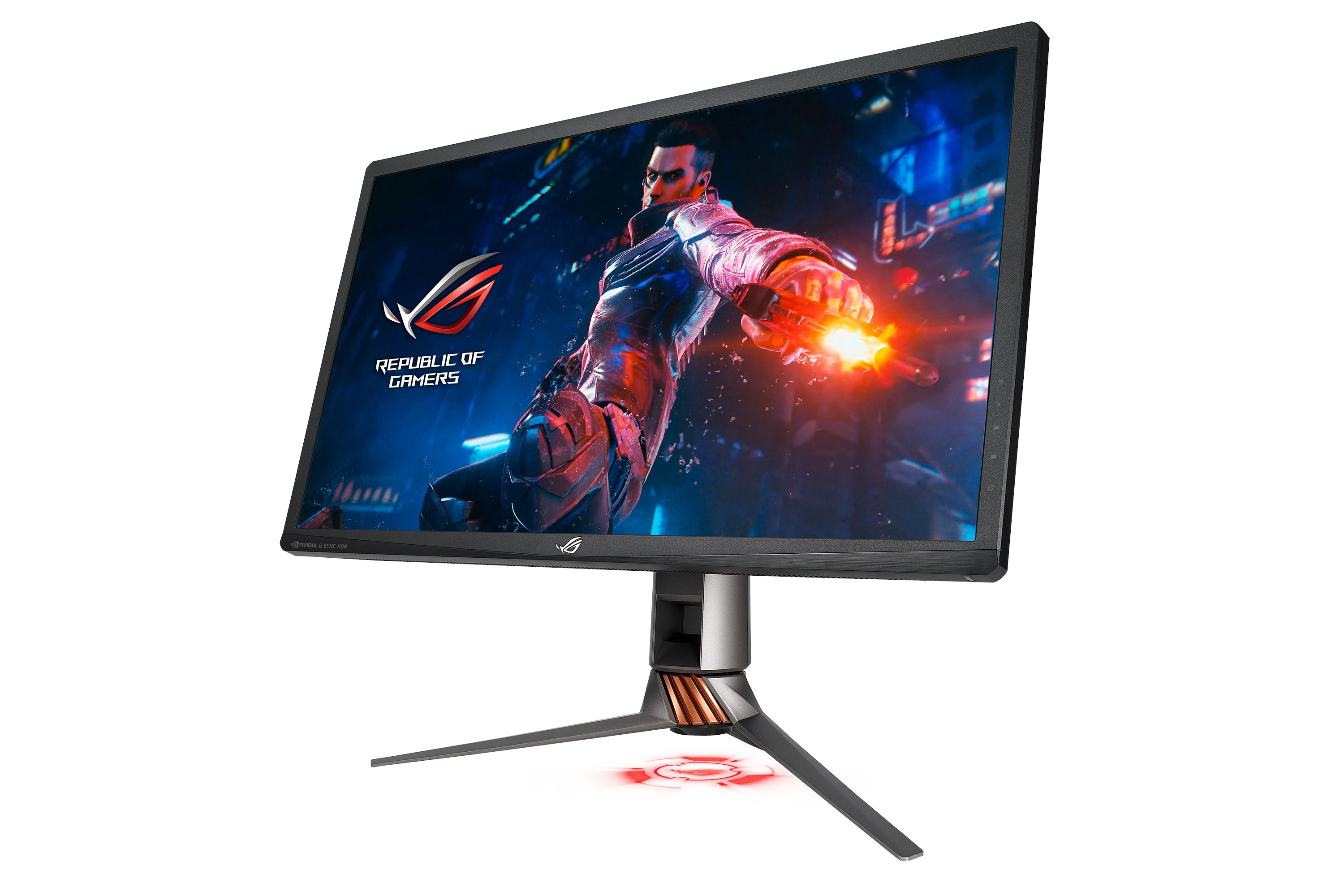 Design and Features - The Asus ROG Swift PG27UQ G-SYNC HDR Monitor