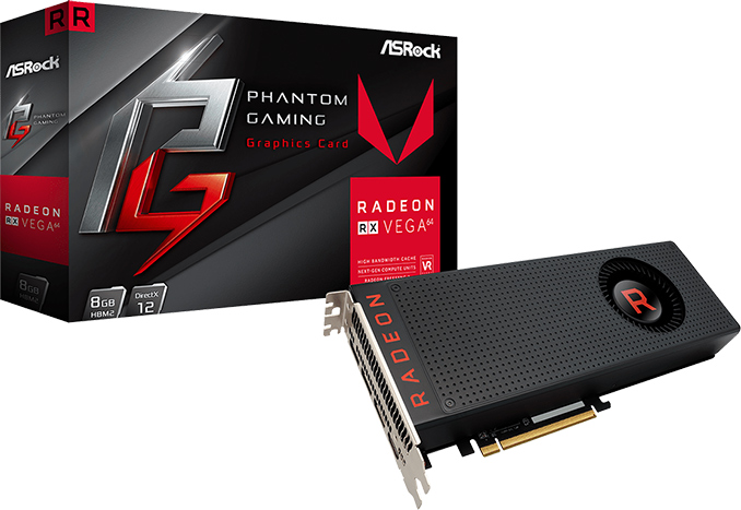 ASRock Expands Phantom Gaming Lineup with Radeon RX Vega Cards