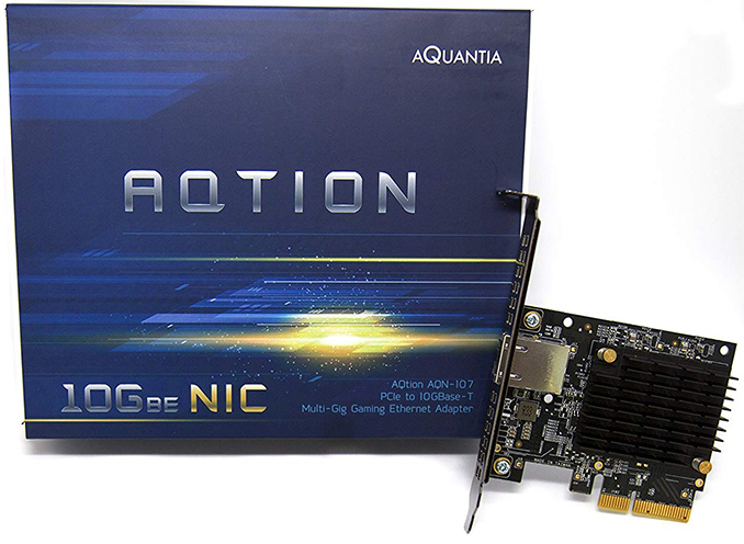 Aquantia's Gamer Edition AQtion AQN-107 10 GbE NIC Available