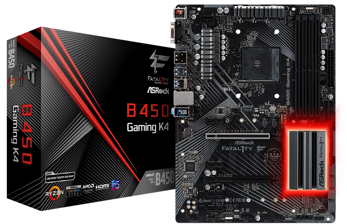 ASRock B450 Gaming K4 Overview - The ASRock B450 Gaming ITX
