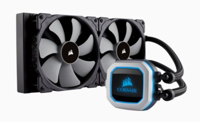 Corsair Releases H100i PRO CPU Cooler: 240mm, Mag Lev fans, RGB LED