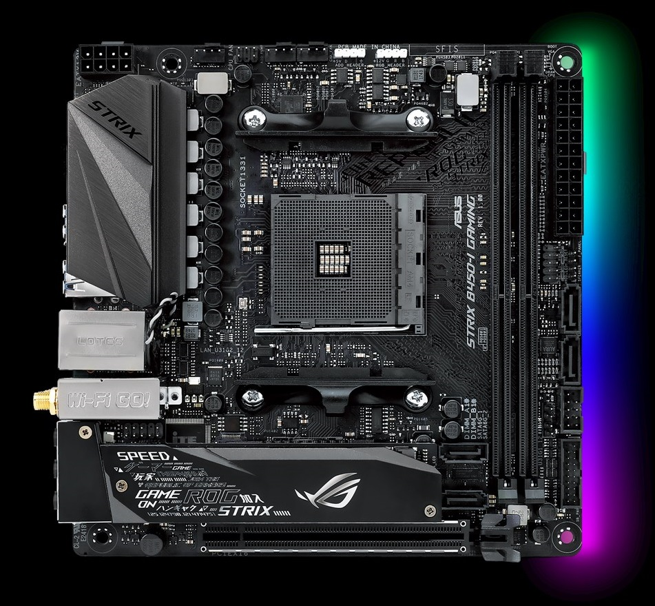 ASUS ROG Strix B450-I Gaming - Analyzing B450 for AMD Ryzen: A Quick