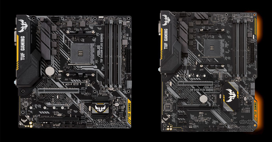 ASUS TUF B450-Plus Gaming and B450M-Plus Gaming - Analyzing