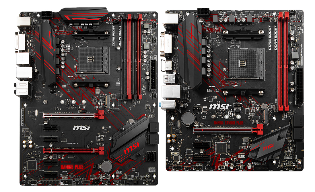 9afb3394a36 MSI B450 Gaming Plus and B450M Gaming Plus - Analyzing B450 for AMD ...