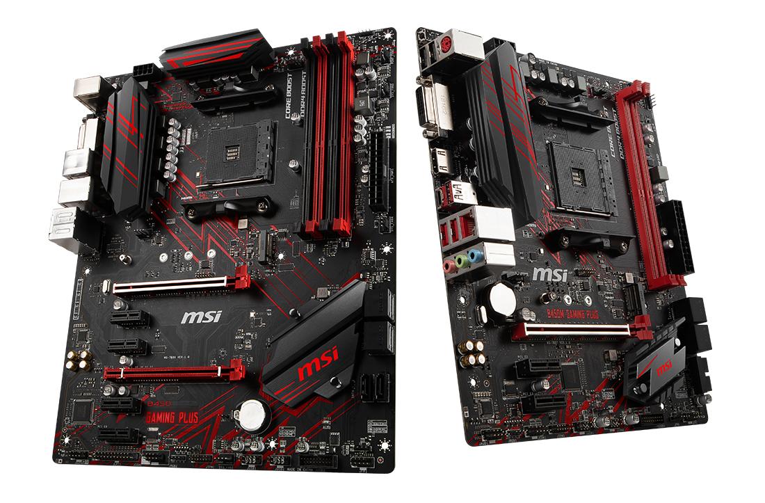 MSI B450 Gaming Plus and B450M Gaming Plus - Analyzing B450 for AMD