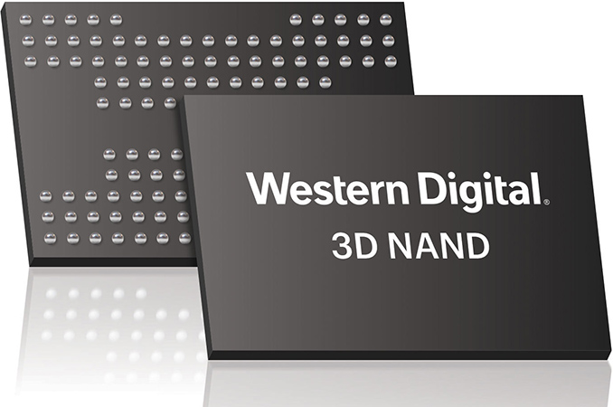 Western Digital Begins to Sample QLC BiCS4: 1.33 Tbit 96-Layer 3D NAND