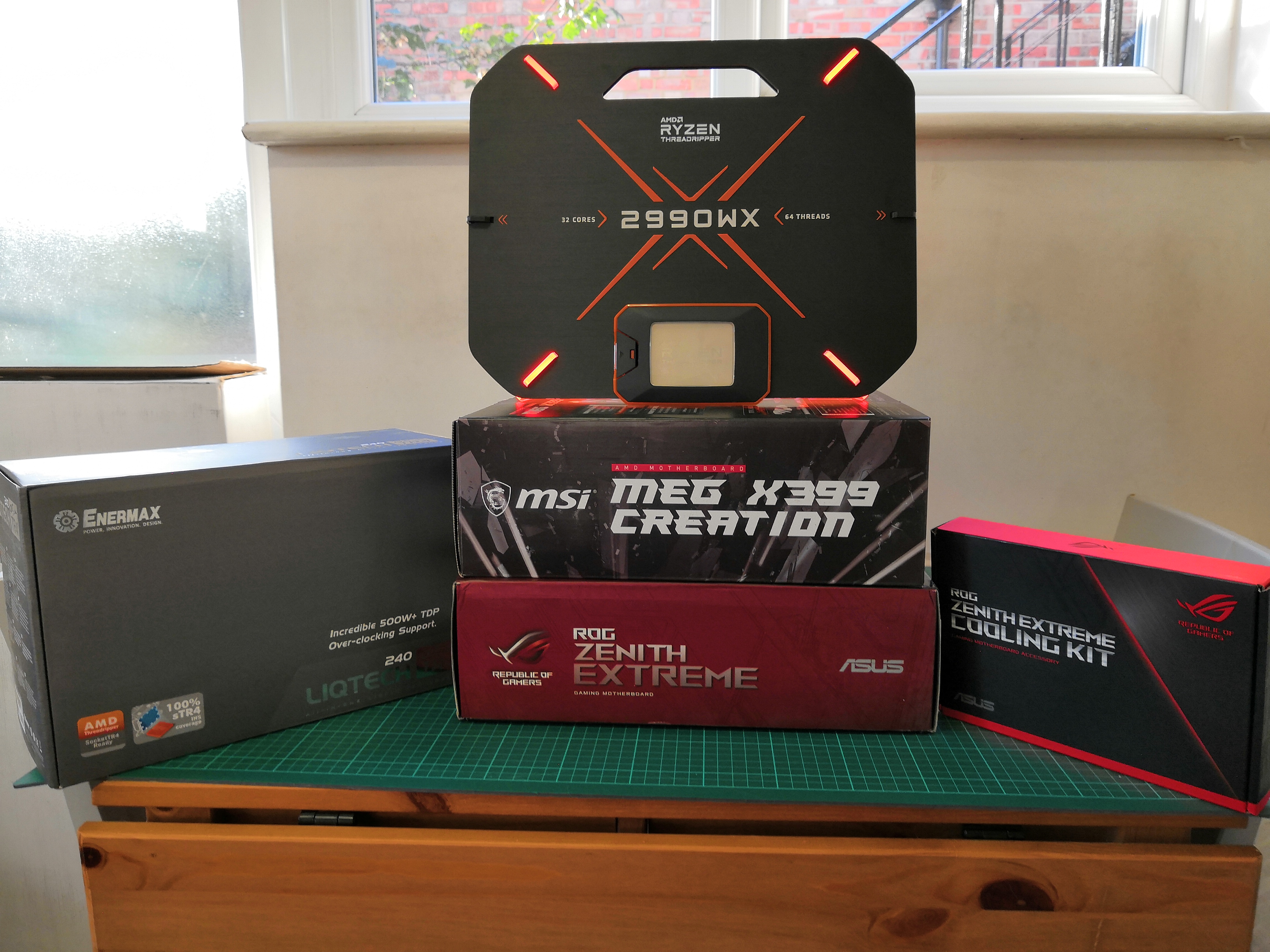 Test Setup and Comparison Points - The AMD Threadripper