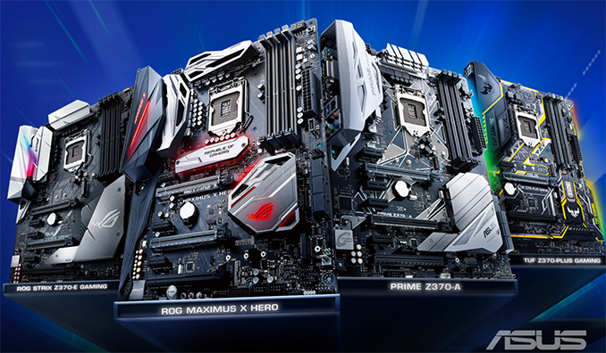 ASUS Publishes List of Upcoming Intel Z390-Based Motherboards
