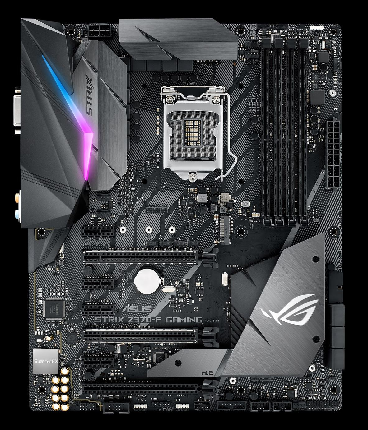 The ASUS ROG Strix Z370-F Gaming Review: A $200 Motherboard