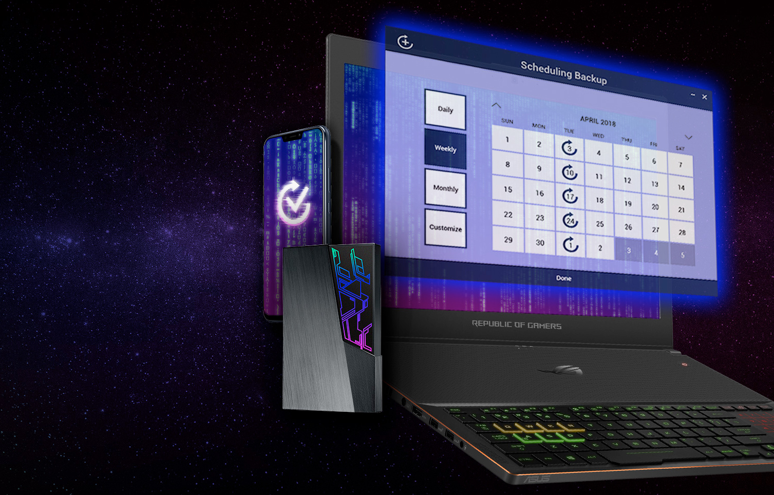 Asus Unveils Fx External Hdds With Aura Sync Rgb Amp Aes 256