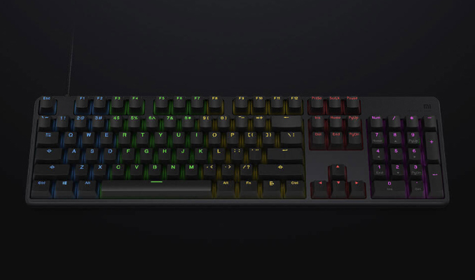 Xiaomi Unveils Its First Mechanical Keyboard with