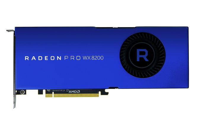 AMD Announces Radeon Pro WX 8200: Pro Vega For Under A Grand