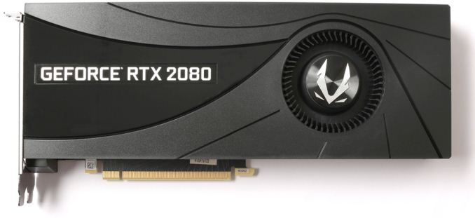 zotac blower 2080 575px - Turing Custom: A Quick Look At Upcoming GeForce RTX 2080 Ti & 2080 Cards