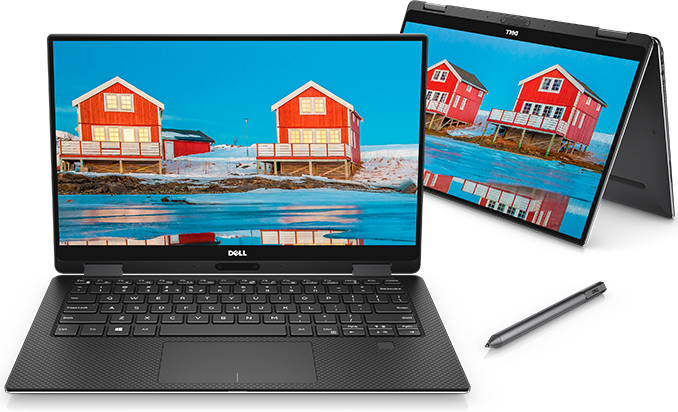 Dell Refreshes XPS 13 2-in-1: Amber Lake 5W CPUs with Thunderbolt 3