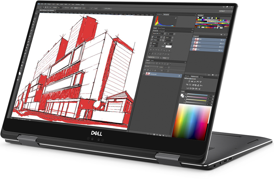 Dell Unveils Precision 2-in-1 5530 Workstation: 15 6-inch Kaby Lake