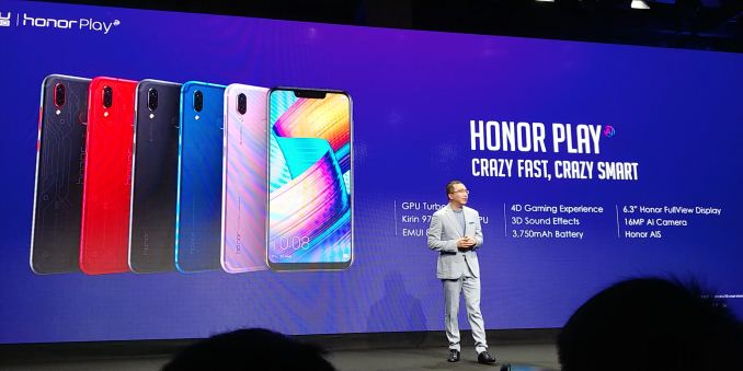 IFA 2018: Honor Play Launch, a Live Blog
