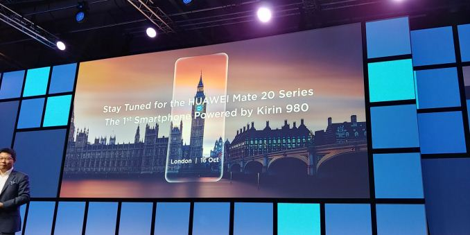 Huawei To Launch the Mate 20 with Kirin 980 on October 16th