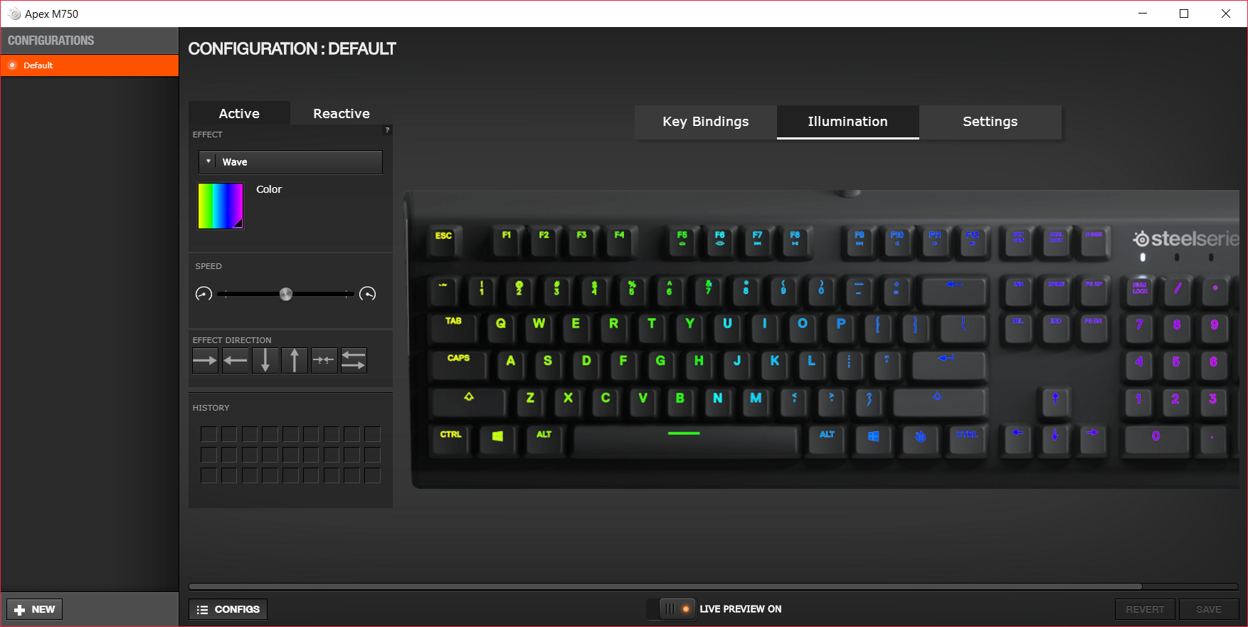 The SteelSeries Engine 3 Software - The SteelSeries Apex M750