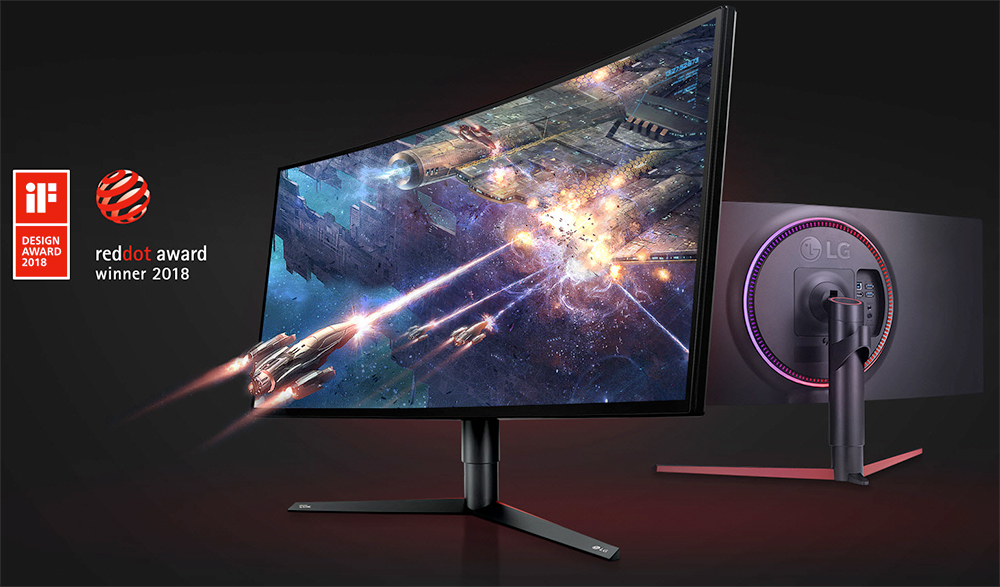 LG Unveils UltraGear 34GK950 34-Inch Curved Gaming Displays